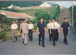 Mr. Ma, visited and inspected our prison